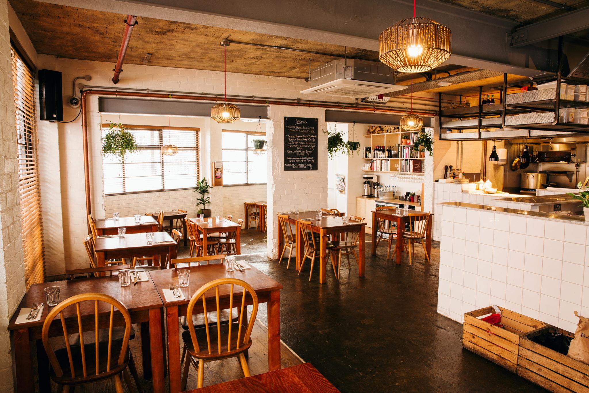 Ox Club Restaurant Interior