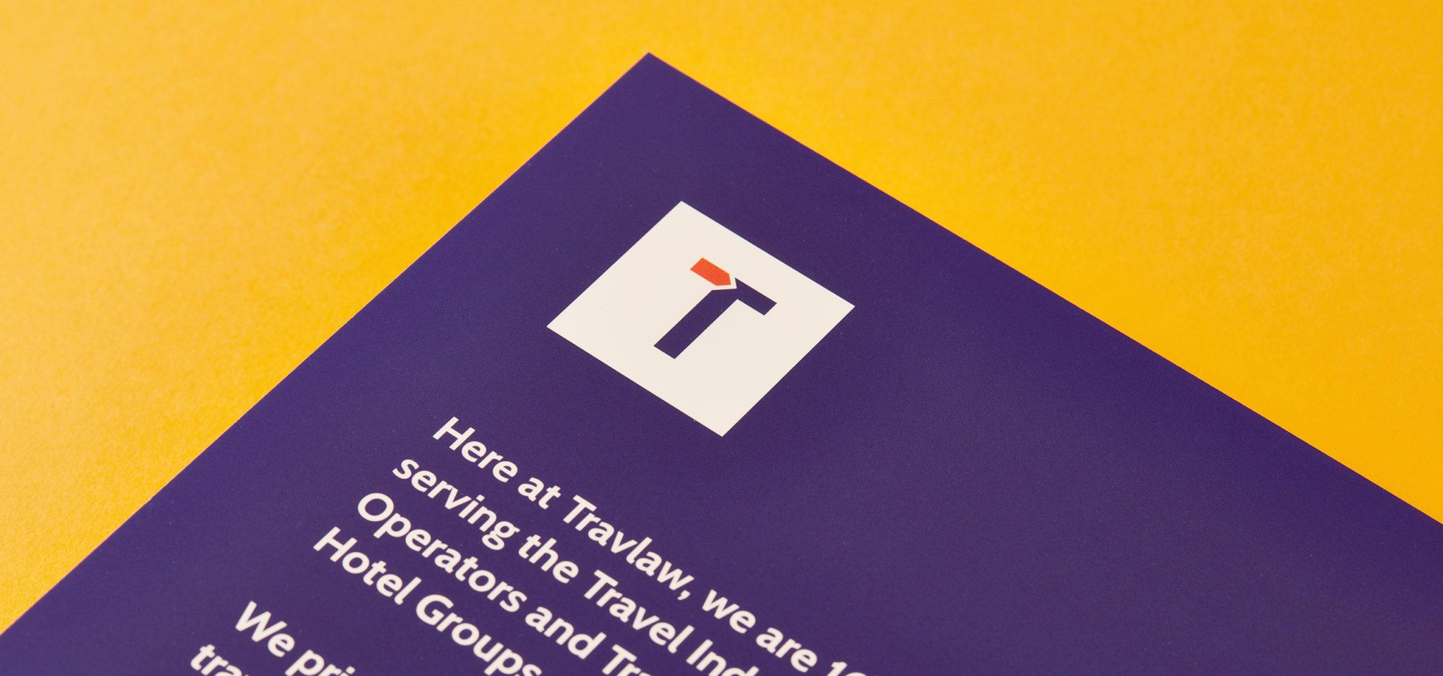 Travlaw Branding, Folder Design and Print, Close Up