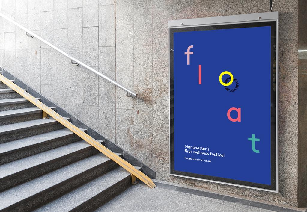Float Festival Branding, Poster Design