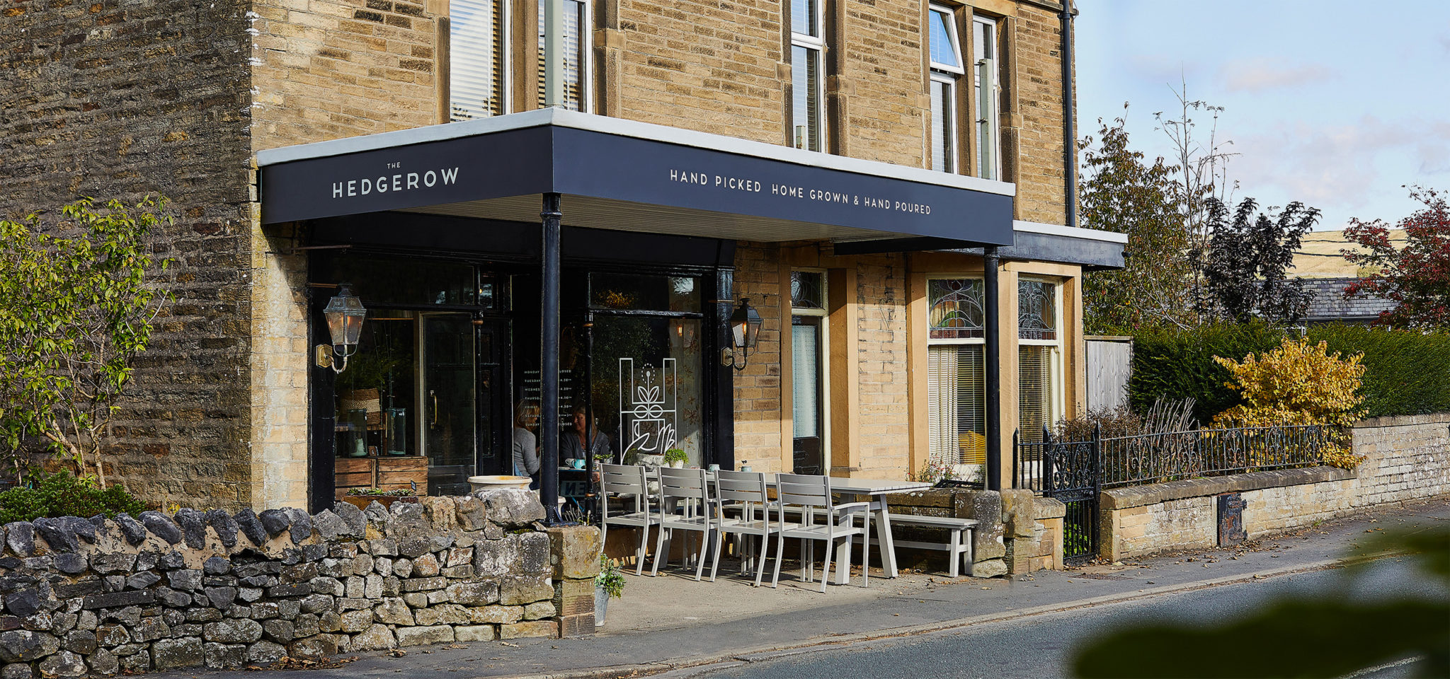 The Hedgerow Branding, Exterior Signage