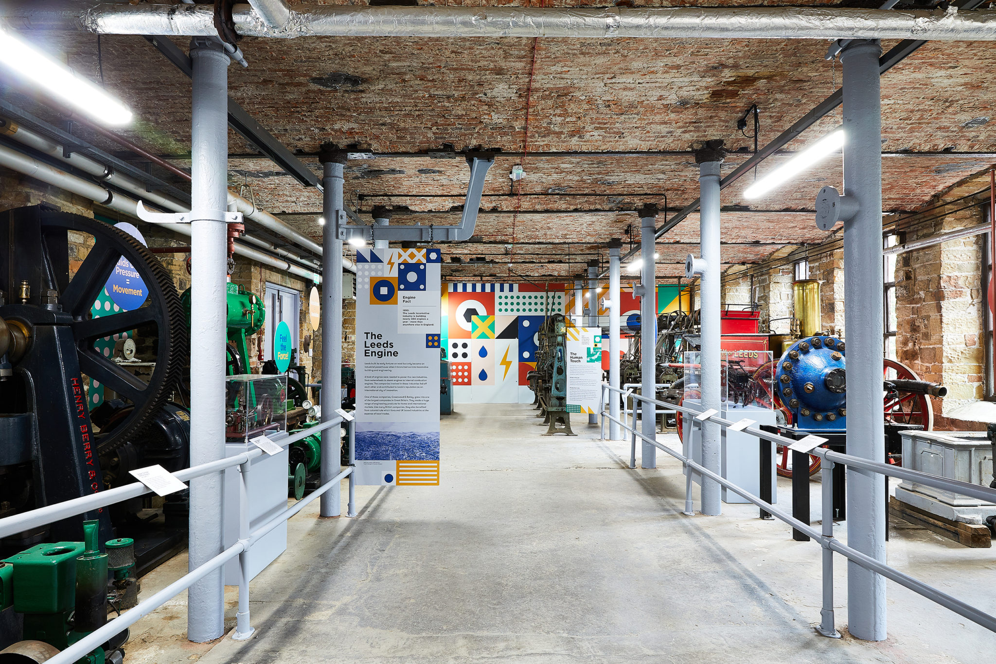 Power House Branding, Exhibition Space