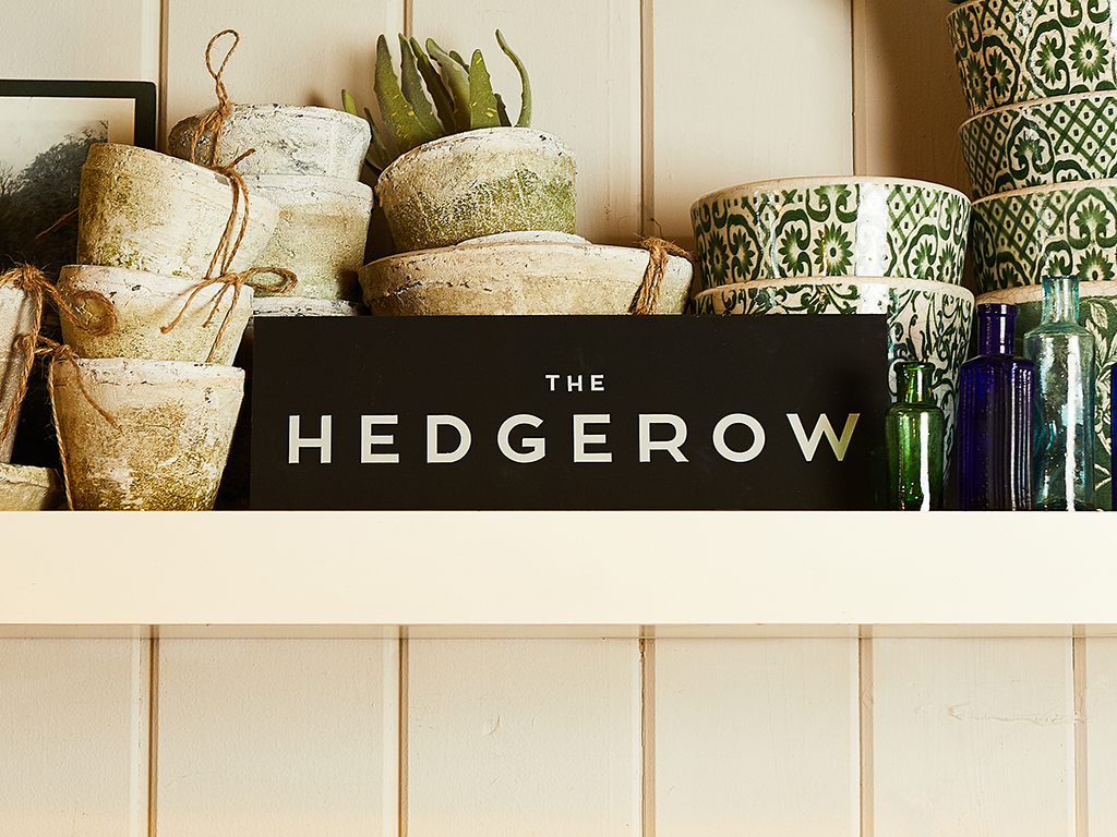 The Hedgerow Branding, Logotype Design