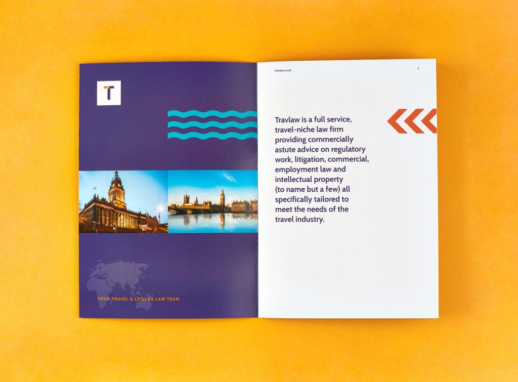 Travlaw Branding, Brochure Design and Print