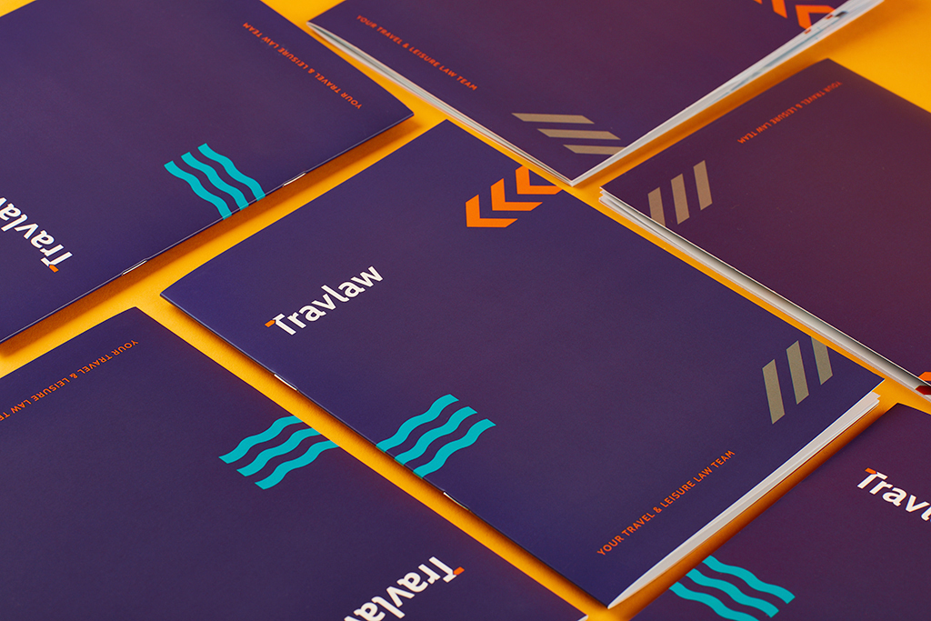 Travlaw Branding, Brochure Design and Print