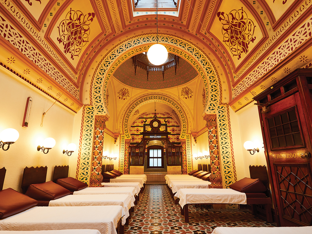 Turkish Baths Harrogate, Relaxation Room