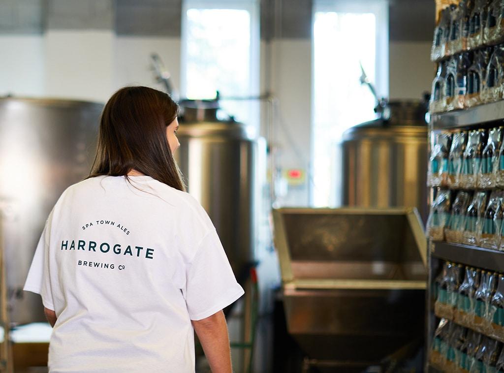 Harrogate Brewing Co. Branding, T-shirt Design