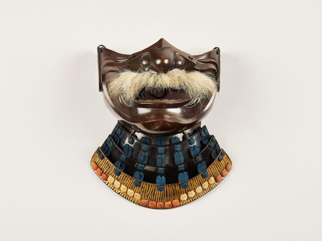 Making Japan Exhibition Branding, Japanese Mask