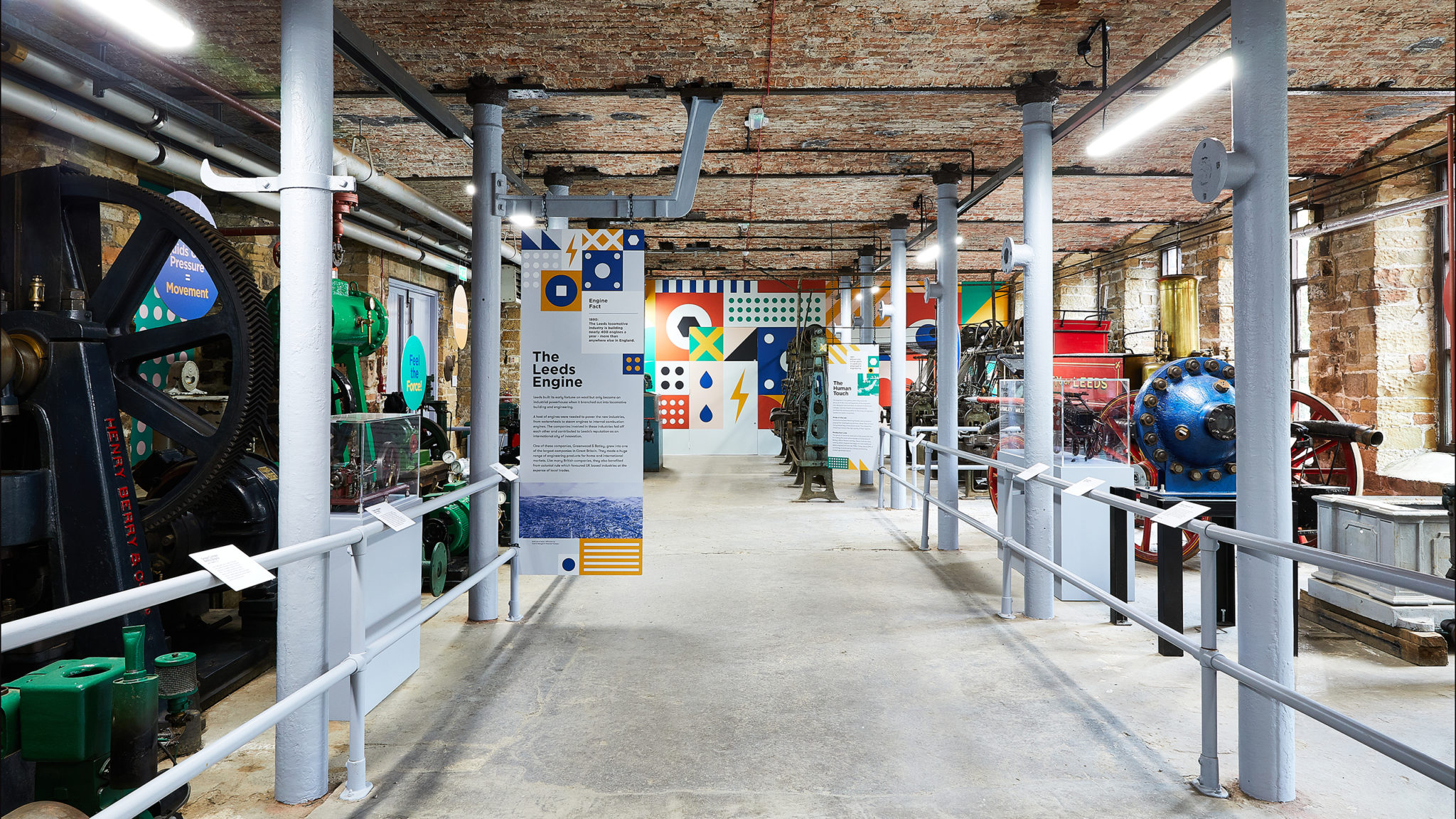 Power House Exhibition Branding