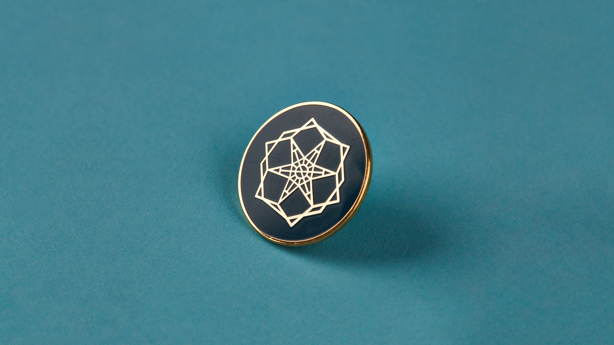 Turkish Baths Harrogate Branding, Pin Badge