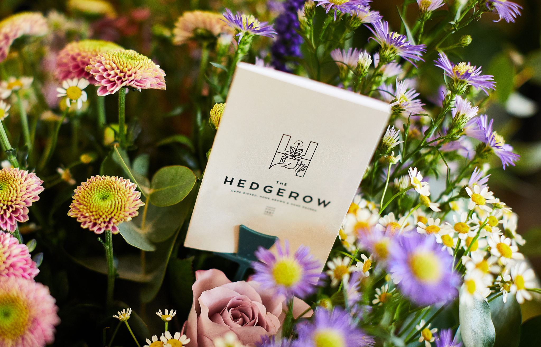 The Hedgerow Branding, Flower Card