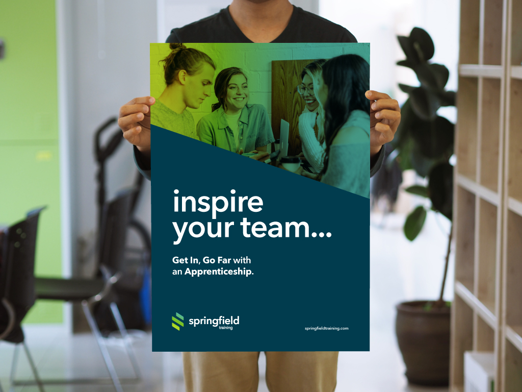 Springfield Training Branding, Poster Design