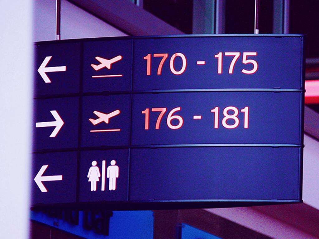 Travlaw Branding, Airport Signage Inspiration