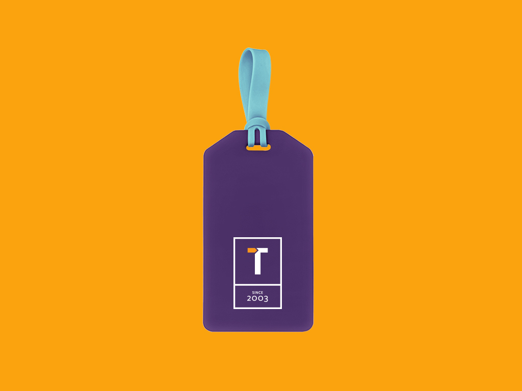 Travlaw Branding, Luggage Tag Design and Print