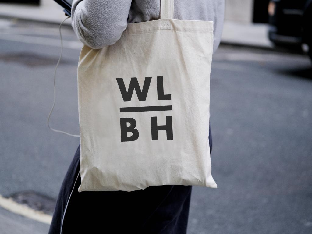 Water Lane Boathouse Branding, Tote Bag Design
